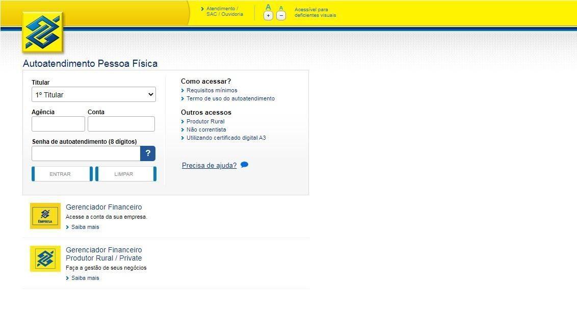 Como Fazer Empréstimo No Banco Do Brasil Com Nome Sujo